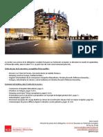 Briefing de plénière -  septembre 2016