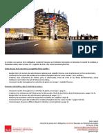 Briefing de plénière -  octobre II 2016