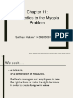 Remedies to the MYOPI Problm