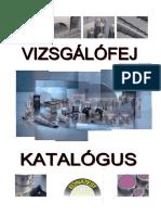 UH Vizsgalofej Katalogus