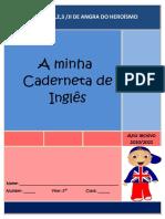 Caderneta de Inglês