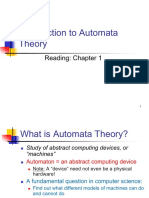 Intro to Automata Theory
