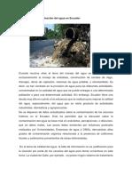 La contaminación del agua en Ecuador.docx
