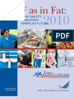 Trust for America's Health Obesity Report 2010