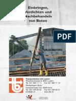 TBL Nachbehandeln Von Beton