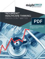 """Indumbent"" Healthcare Thinking"
