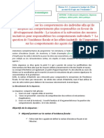 La Taxation Et La Subvention Des Mesures Incitatives Pour Responsabiliser Les Comportements Individuels