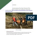 Dampak Bencana Alam Tanah Longsor