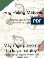 Ang Huling Matuwid