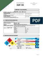 Msds Dqp-100 Hs82402 Rev 06