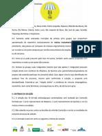 Edital Prosas Criterios de Seleção