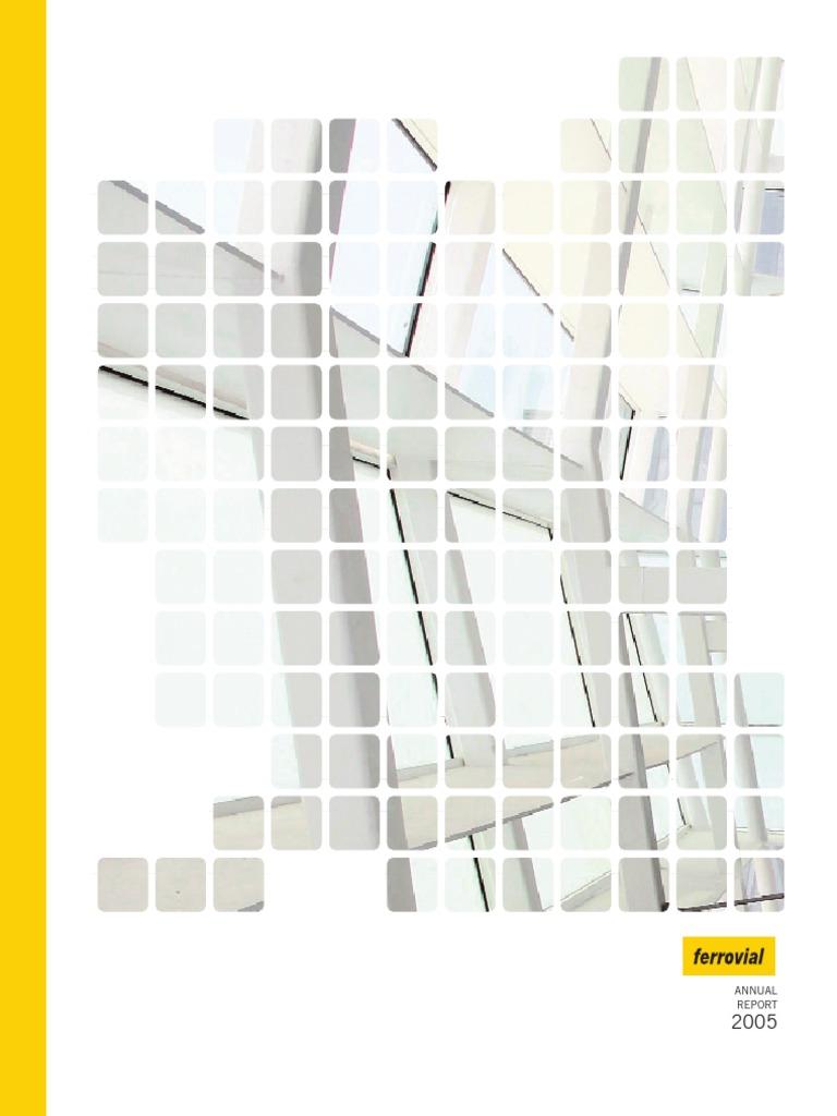 Annual Report 05 Ferrovial (1)   Companies   Economies