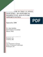 Steel Energy Use