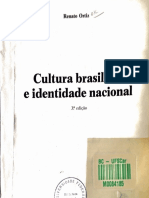 ORTIZ, Renato - Cultura Brasileira