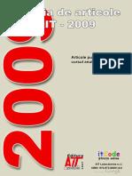 Colecția de Articole AIT 2009