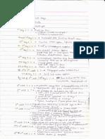 Anatomy - Embryology - Handwritten Notes