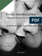 Proiect interdisciplinar