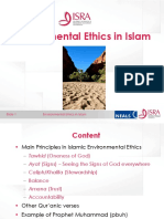 Environmental Ethics in Islam