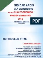 Clase 1 de Derecho Economico 17-04-2015