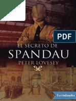 El Secreto de Spandau - Peter Lovesey