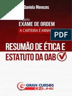 PEO - Ética Profissional - Profa. Daniela