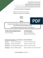 L'Impact Des Technologies de l'Information Et de La Communication (TIC) Dans La Fonction Ressources Humaines (FRH