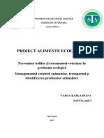 Proiect Alimente Eco
