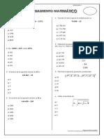 razonamiento matemàtico