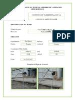 Ficha de Ubicacion de La Estación Metereológica