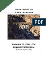 Estudio Hidráulico Puente La Engorda