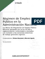 García Pullés, F. Régimen de Empleo Público en La Administración Nacional. Introducción