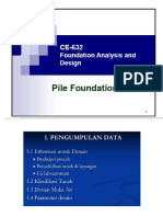 Deep Foundation Design
