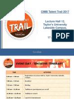 Info Pack Regional Level Taylor's University 17Jan2017