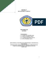 WINARISYAH - Referat Airway Management