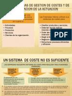 Sistemas de Gestion de Costes y de Evaluacion