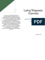 Wittgenstein - O Pewności