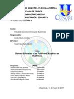 Sistema Educativo en Guatemala