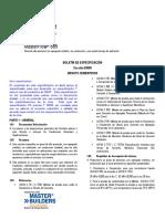 BASF MasterFlow 885 - Boletín Especificación