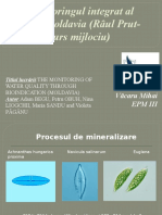 Monitoringul zonei Moldovei