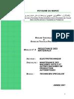 Module 09 Resistance Des Materiaux