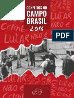 Conflitos No Campo  Brasil 2016