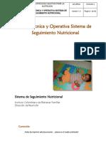 Guía Técnica y Operativa Sistema de Seguimiento Nutricional