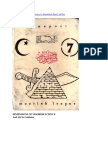 Dimensions of Moorish Science by Sheik Rafi Sharif Ali Bey