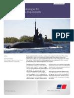 MTU Submarine Charging Unit 12V 4000