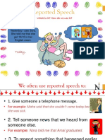 Reported Speech English 4
