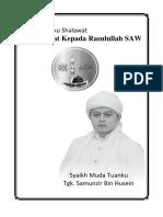 Buku Shalawat