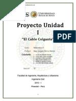 Proyecto Unidad 1 MAT III