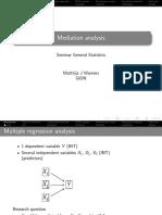 2015 09 16 Mediation Analysis