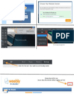 Weebly Student Guide