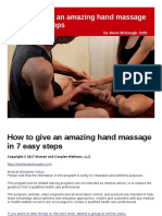 How to Give an Amazing Hand Massage in 7 Easy Steps